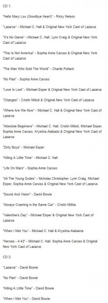 Последние записи Дэвида Боуи выйдут в октябре
