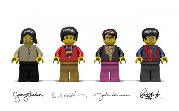 The Beatles имеют свои Лего