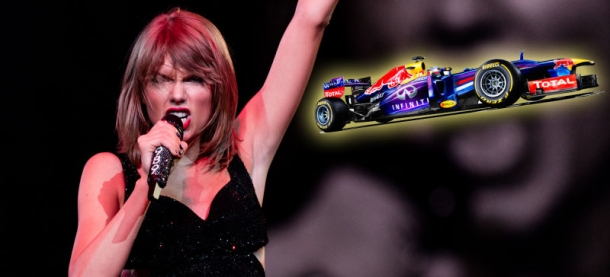 Концертное выступление Тейлор Свифт во время Гран-При Формулы-1