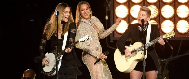 Бейонсе выступила на Country Music Awards 2016