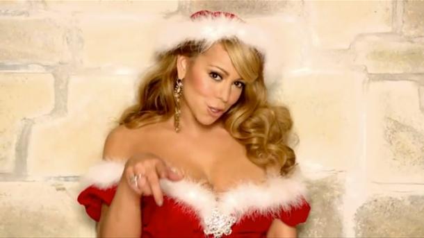 Мэрайя Кэри – по-прежнему на вершине  самых популярных списков рождественских песен