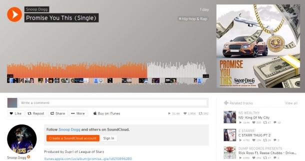 Неожиданная песня от Snoop Dogg