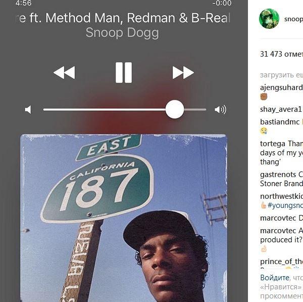 Новый альбом Snoop Dogg