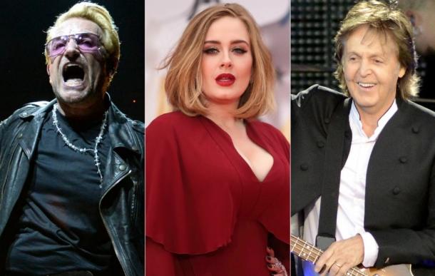 The Sunday Times опубликовал список самых богатых британских музыкантов
