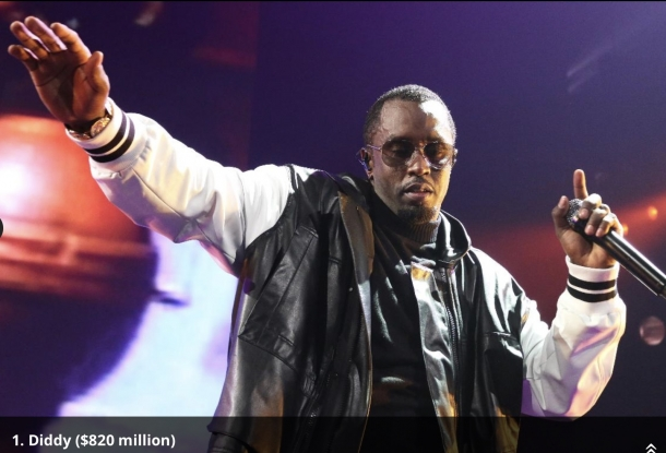 Diddy самый богатый рэпер в мире