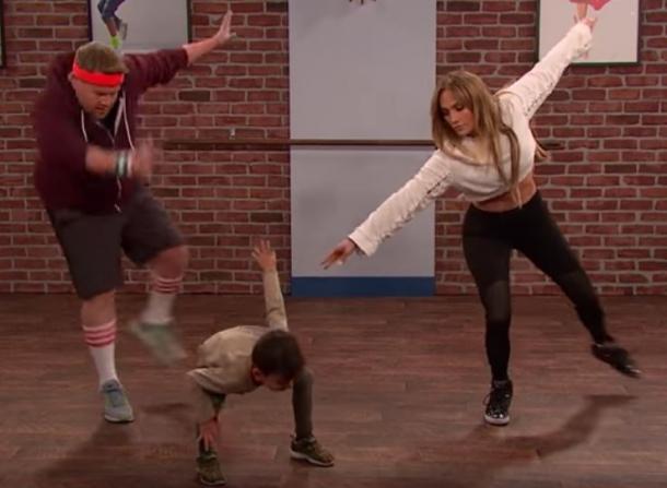Лопес танцевала по указке детей