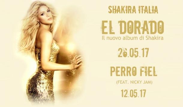 Шакира выпускает новый диск