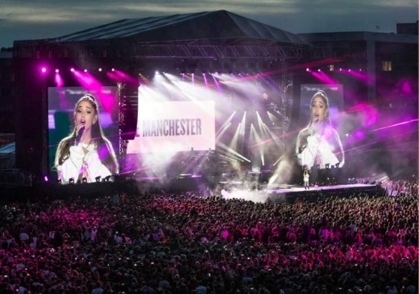 Концерт Арианы Гранде в Манчестере: собранная сумма превышает два миллиона фунтов