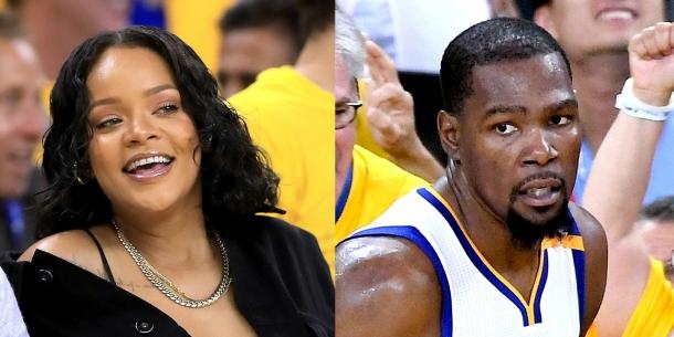 Поведение Рианны на матче НБА завоевало сеть