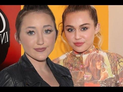 Майли Сайрус предупреждает младшую сестру Ноа: - «не Гугли себя»