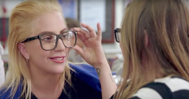 Леди Гага стала учителем