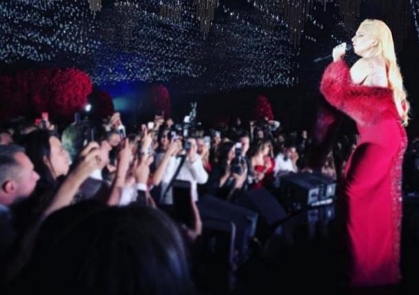 Леди Гага и Басков выступили на одной сцене