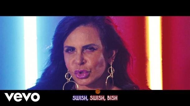 Перри представила лирическое видео на Swish Swish с Гретхен