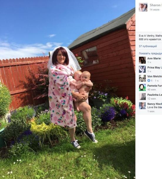 Мать из Ирландии делает фурор в сети: спародировала фото Бейонсе с близнецами