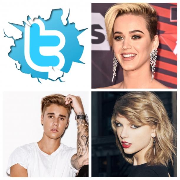 Самые популярные звезды музыки в Twitter и их самые популярные посты