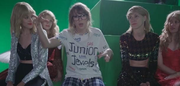 Тейлор Свифт: что осталось за кадром съемок последнего видеоклипа певицы