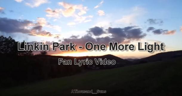 Появилось lyric video от поклонников Linkin Park