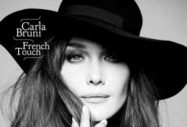 Карла Бруни «French Touch»: леди в черном
