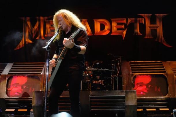 Дэйв Мастейн из Megadeth заболел боррелиозом