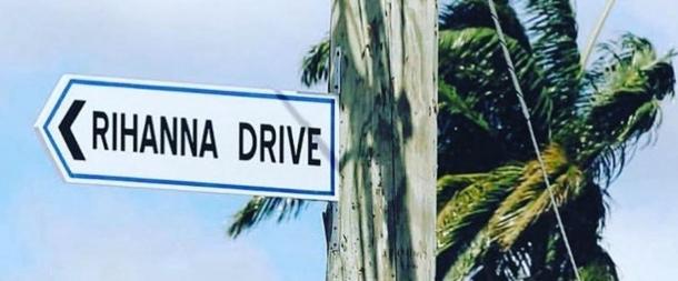 Рианна «получила свою» улицу на Барбадосе