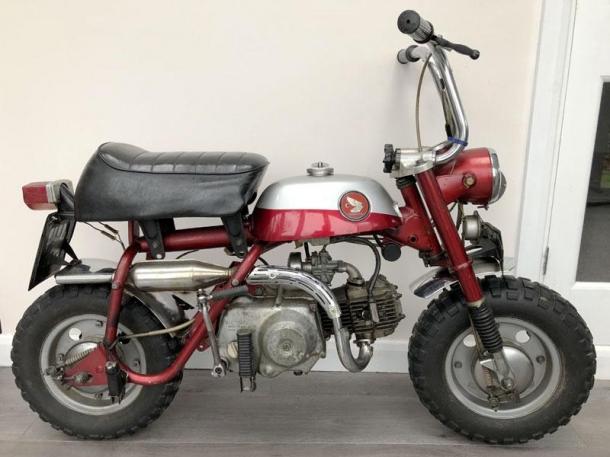 Купи мотоцикл Джона Леннона!
