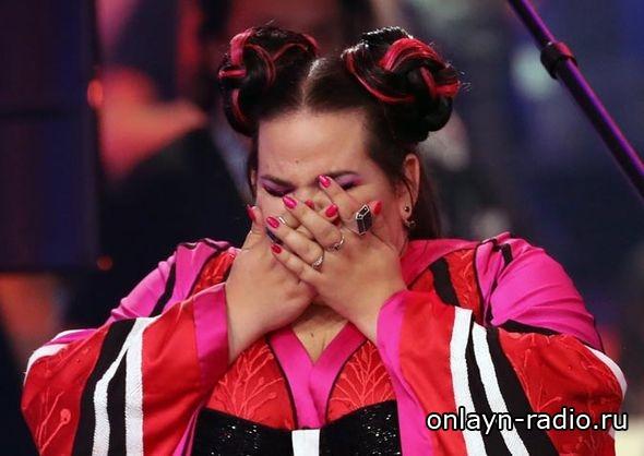 Евровидение-2018: Netta упала с лестницы. Это не показали в эфире
