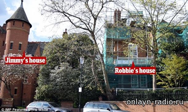 Джимми Пейдж выигрывает неожиданный спор с Робби Уильямсом