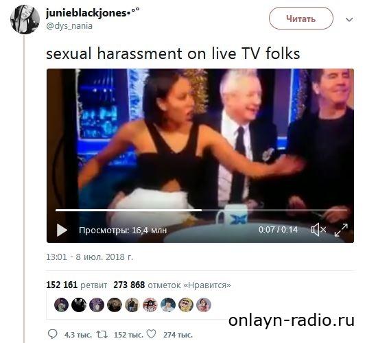 Архивное видео с Мелани Браун и Луисом Уолшем возмутило интернет-пользователей