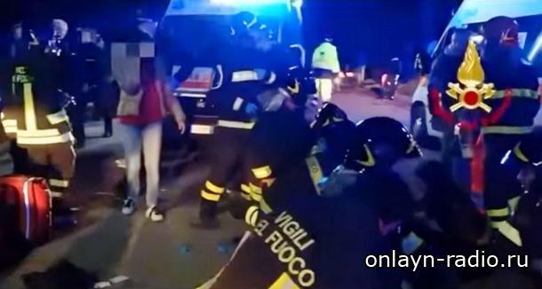 6 человек погибли на концерте Sfera Ebbasta в Италии, 50 человек ранены