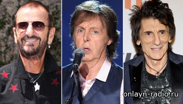Пол, Ринго и Ронни в главной роли на концерте в Лондоне (видео)