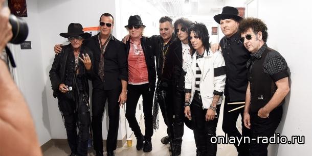 Поклонников рок-группы Hollywood vampires ждет премьера их нового альбома