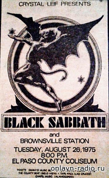 Black Sabbath опубликовала фотографию, на которой впервые появился талисман группы