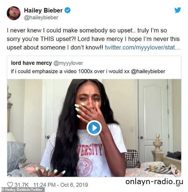 Хейли Бибер встала на защиту мужа Джастина после того, как он издевается над вирусным видео Тейлор Свифт