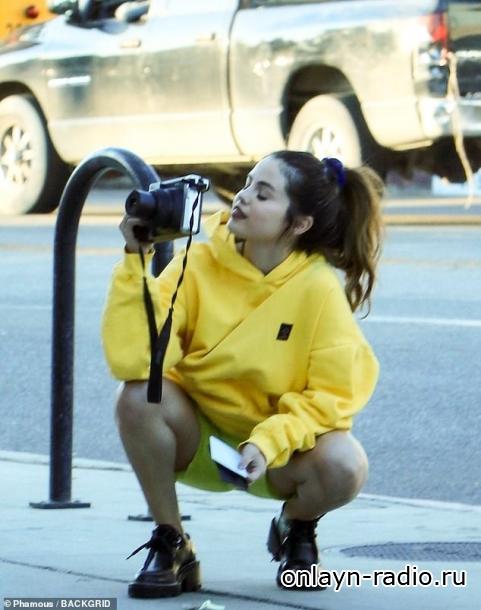 Селена Гомес на фотосессии в Лос-Анджелесе