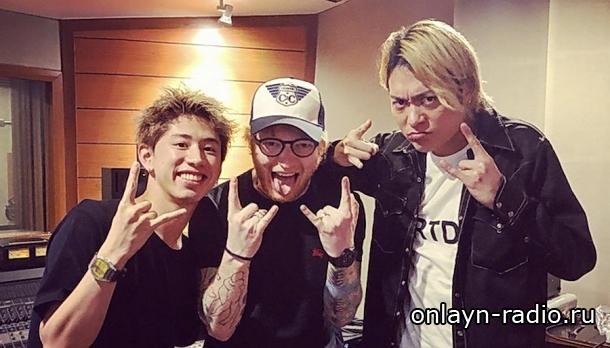 Эд Ширан неожиданно присоединился к выступлению японской рок-группы ONE OK ROCK