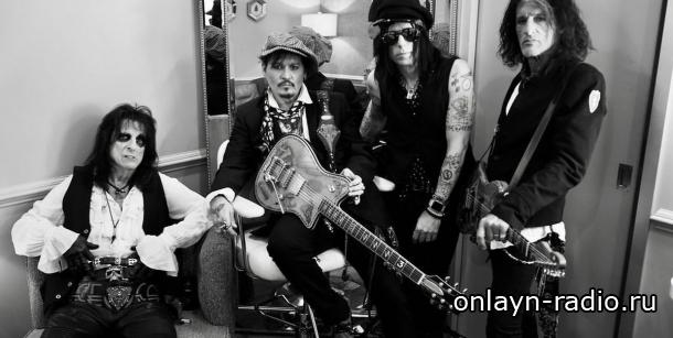 Известная рок-группа Hollywood Vampire только что объявила даты нового тура 2020