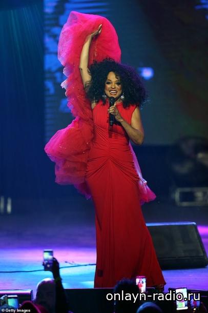 Великолепная Диана Росс на World AIDS Day Concert в Далласе