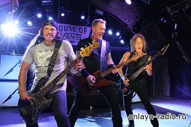 Metallica опубликовала лондонский концерт 2016 года (видео)