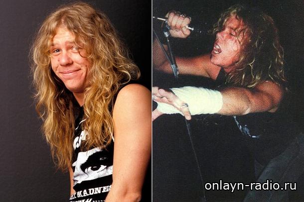Джеймс Хэтфилд на сцене без гитары. Смотрите архивную запись концерта Metallica 1992 (видео)