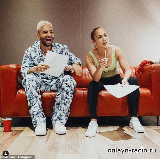 Дженнифер Лопес намекает о сотрудничестве с Малумой над новой песней